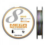 Шнур DAIWA Mega Sensor 8Braid UVF+Si 200m multicolor #0,8