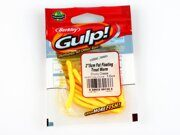 "Червяк Gulp! Berkley Fat Floating Trout Worm 2"" Chunky Cheese"