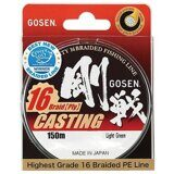 Плетеный шнур GOSEN 16 Braid Casting 150m #2