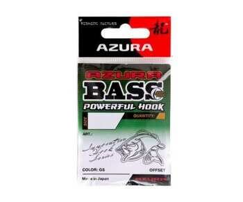 Крючки Azura Bass Powerful Hook №1/0
