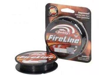 Плетёная леска Berkley FireLine Smoke 110m 0,10