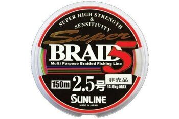 Плетеный шнур Sunline Super Braid 5 #0.6