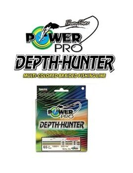 Плетенка Power Pro Depth-Hunter (multicolor) 150м 0,10