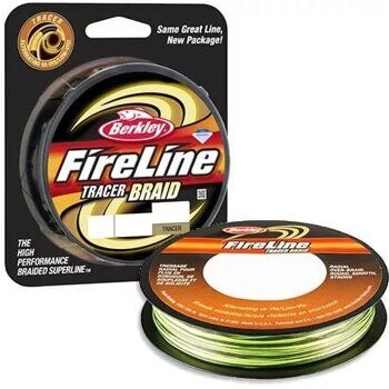 Плетёная леска Berkley FireLine Tracer Braid 110m 0,16