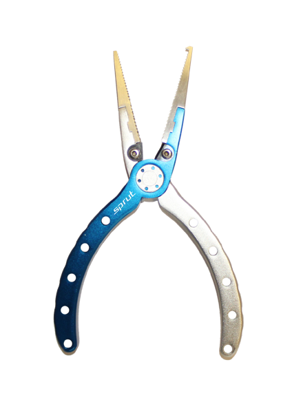 "Инструмент ""Sprut"" Aluminum Fishing Pliers 150mm (Silver Blue) AFP150-SB"